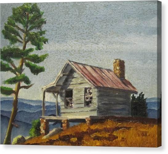Cabin Canvas Print by D T LaVercombe