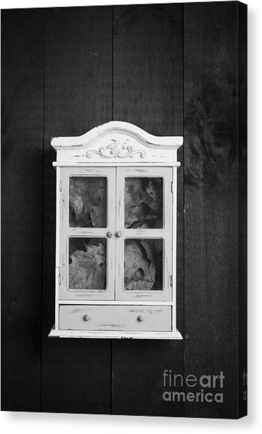 Drawers Canvas Print - Cabinet Of Curiosity by Edward Fielding