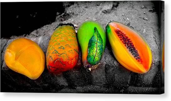 Cabo Fruit Art Canvas Print