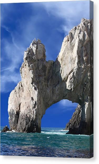 Cabo San Lucas Archway Canvas Print