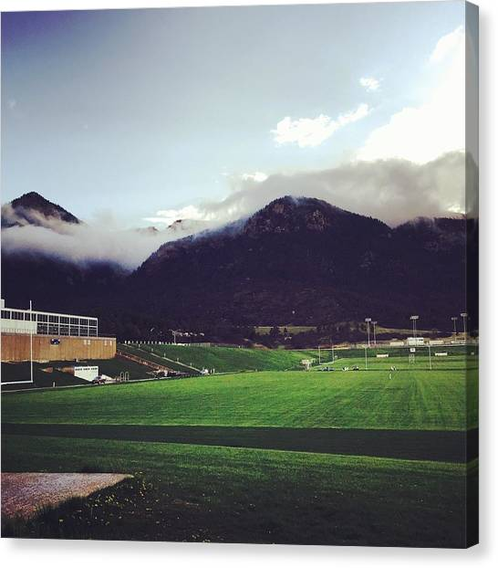 Cadet Athletic Fields Canvas Print