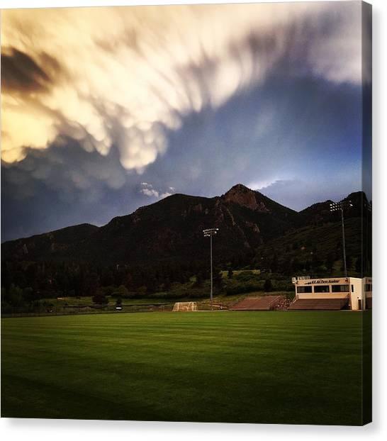 Cadet Soccer Stadium Canvas Print