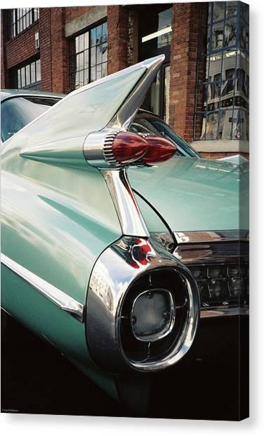 Cadillac Fins Canvas Print