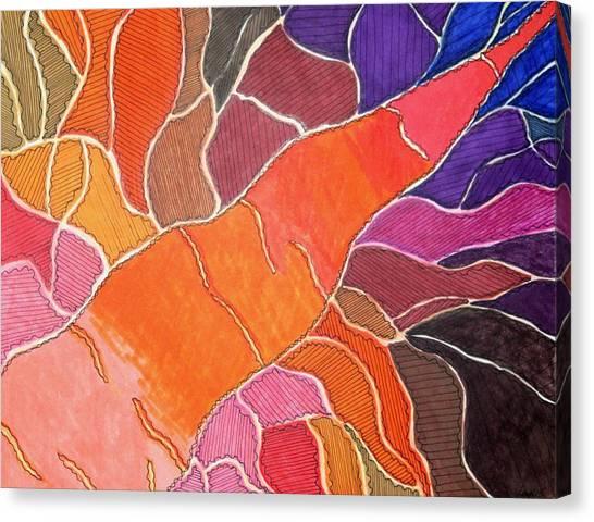 Cadmium Road Canvas Print