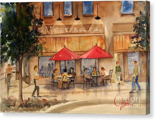 Cafe Chocolate Canvas Print