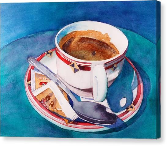 Cafe Con Leche Canvas Print