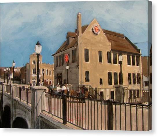 Cafe Hollander 2 Canvas Print