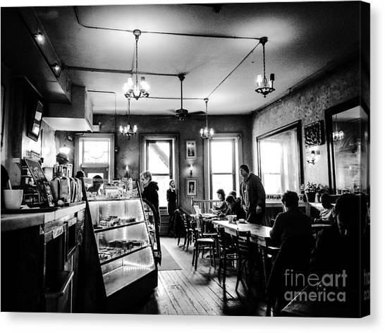 Cafe Light Canvas Print by JMerrickMedia