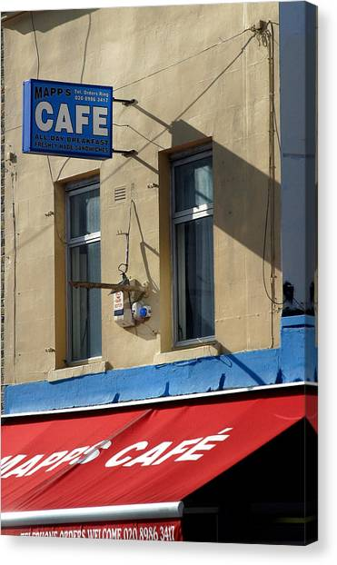 Cafe Old Ford Canvas Print by Jez C Self