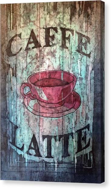 Caffe Latte Canvas Print