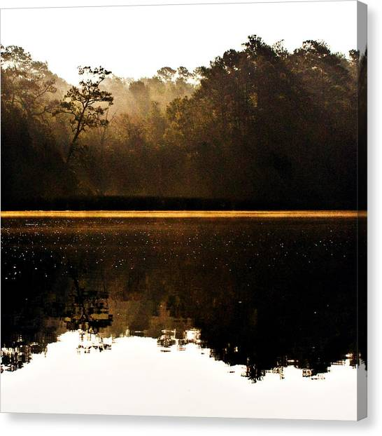 Cahooque Creek Sunrise Canvas Print