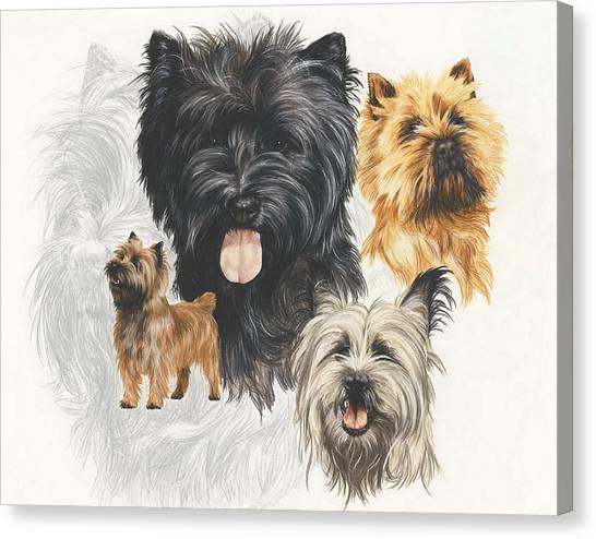 Cairn Terrier Revamp Canvas Print