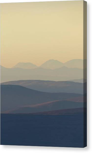 Cairngorms Sunset Canvas Print