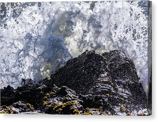 California Coast Wave Crash 5 Canvas Print
