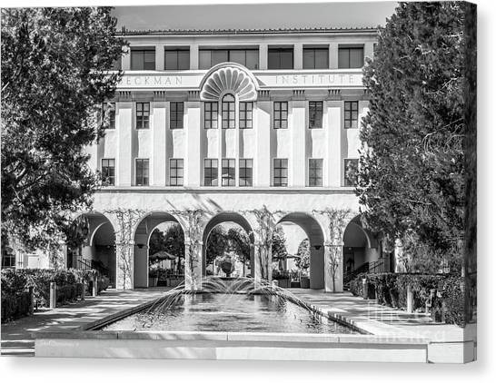 Cal Tech Beckman Institute Canvas Print by University Icons