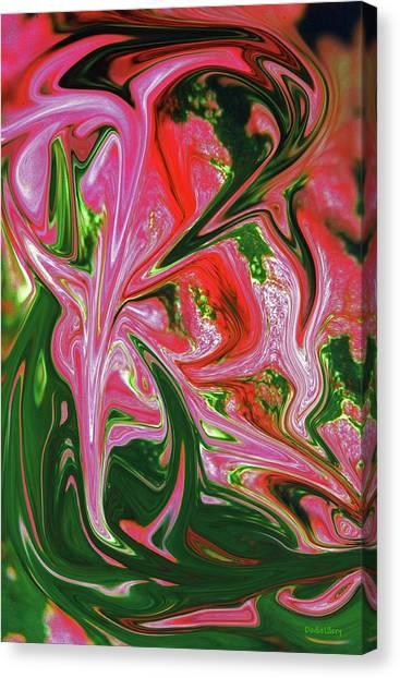 Caladium Canvas Print