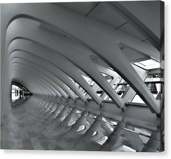 Calatrava 3 Canvas Print