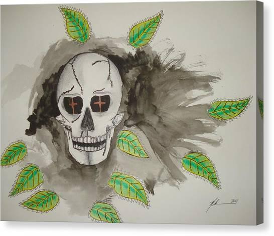 Calavera Canvas Print