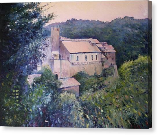 Calcata Lazio Italy 2009 Canvas Print by Enver Larney