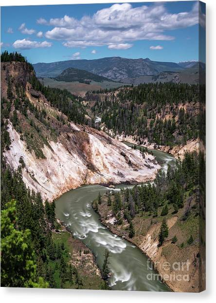 Calcite Springs Overlook  Canvas Print