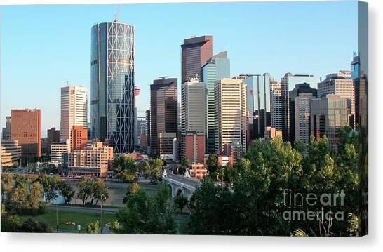 Calgary 2 Canvas Print