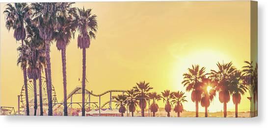 Los Angeles Angels Canvas Print - Cali Vibes by Az Jackson