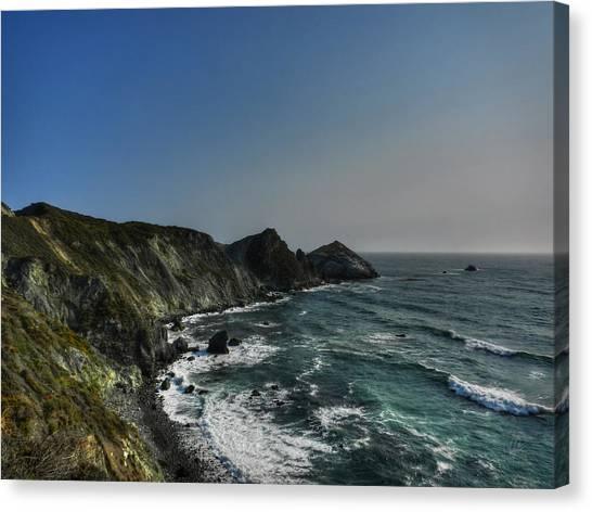 Big South Canvas Print - California - Big Sur 008 by Lance Vaughn