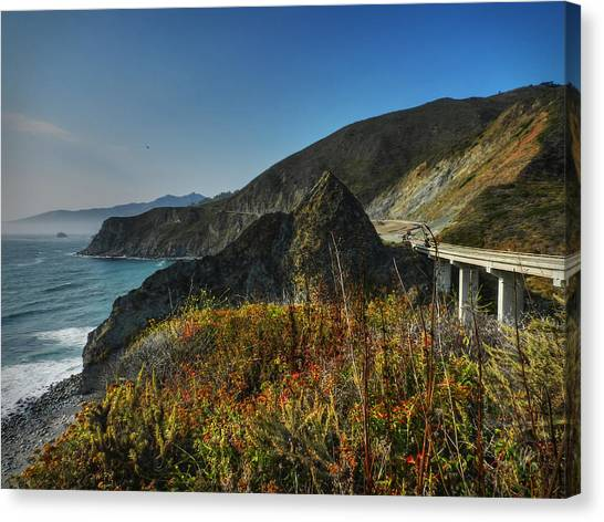 Big South Canvas Print - California - Big Sur 011 by Lance Vaughn