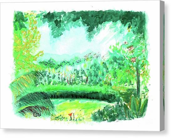 California Garden Canvas Print