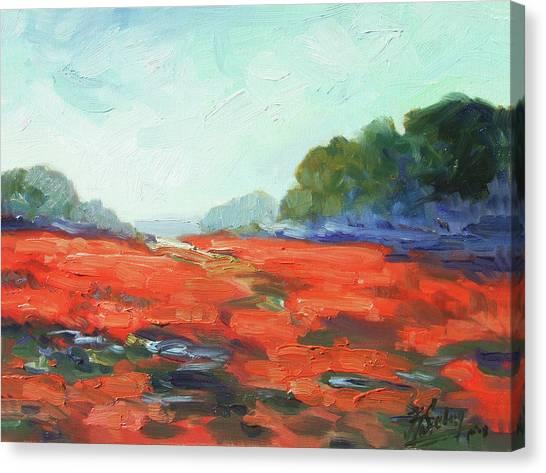 Canvas Print - California Poppies by Irek Szelag
