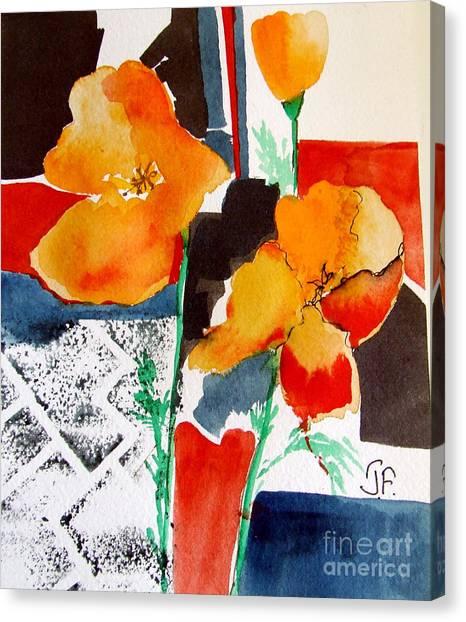 Canvas Print - California Poppies by Jane Ferguson