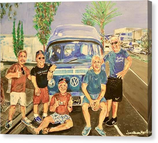 California Rednecks Canvas Print