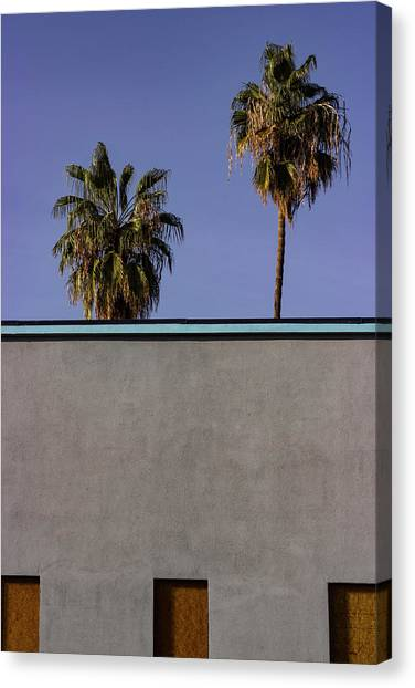 California Rooftop Canvas Print