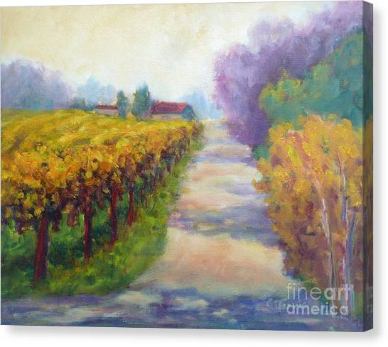 California Wine Country Canvas Print