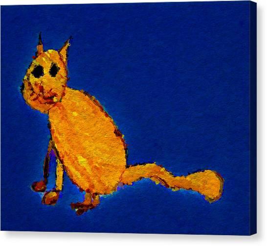 Canvas Print - Cali's Cat by Modern Art