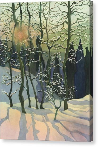 Call Mountain Sunset Canvas Print