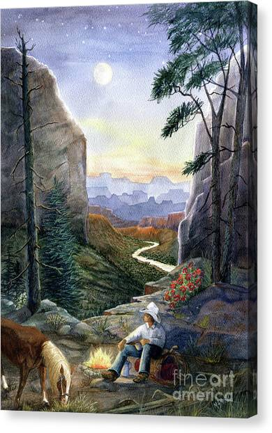 Canvas Print - Call Of The Canyon by Marilyn Smith