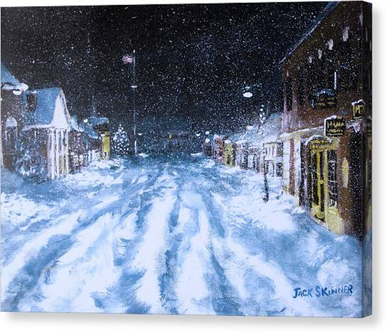 Call Out The Plows Canvas Print
