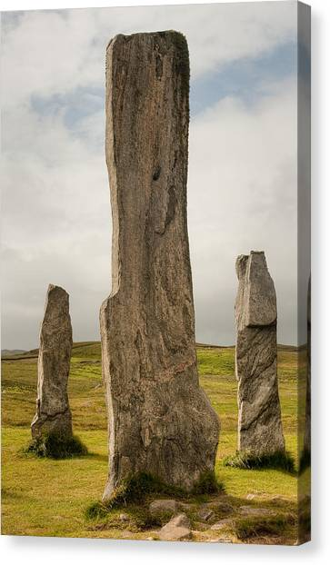 Callanish Standing Stones Canvas Print