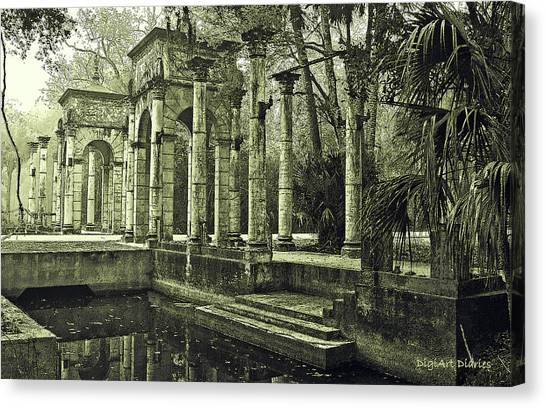 Calle Grande Ruins Canvas Print