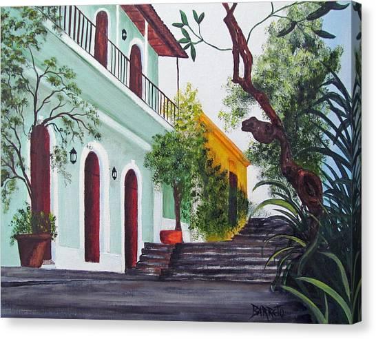 Callejon Del Hospital Canvas Print