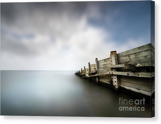 Groin Canvas Print - Calm 2 by Rod McLean