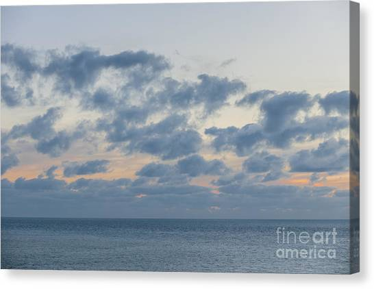Ocean Sunset Canvas Print - Calm After Sunset by Elena Elisseeva