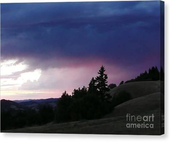 Calm Before The Really Big Storm Canvas Print by JoAnn SkyWatcher