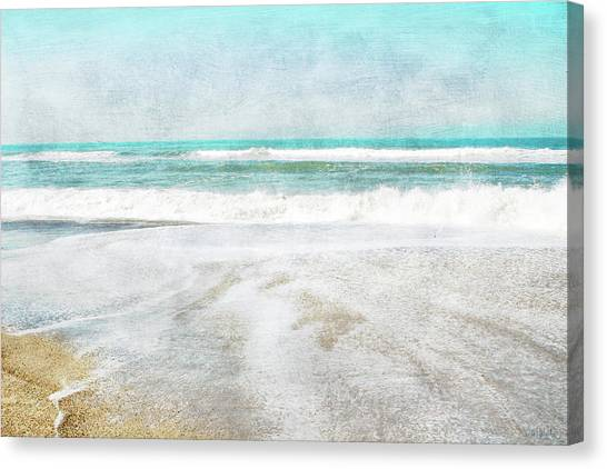 Coast Canvas Print - Calm Coast- Art By Linda Woods by Linda Woods
