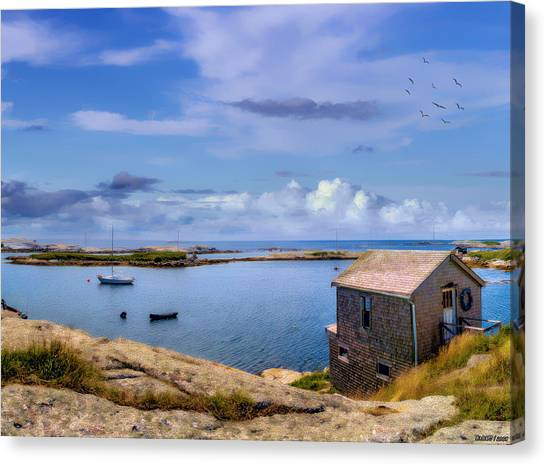 Calm Summer Day In Prospect Canvas Print