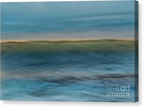 Calming Blue Canvas Print