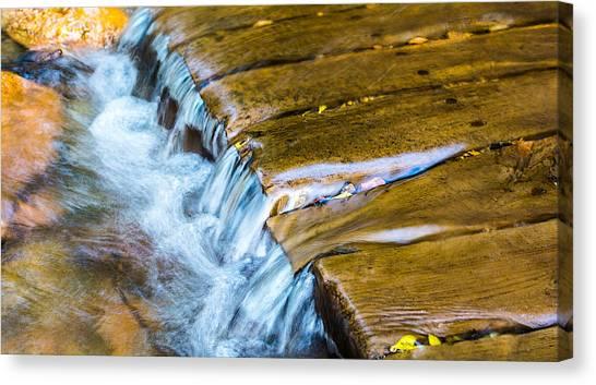 Calming Cascade Canvas Print