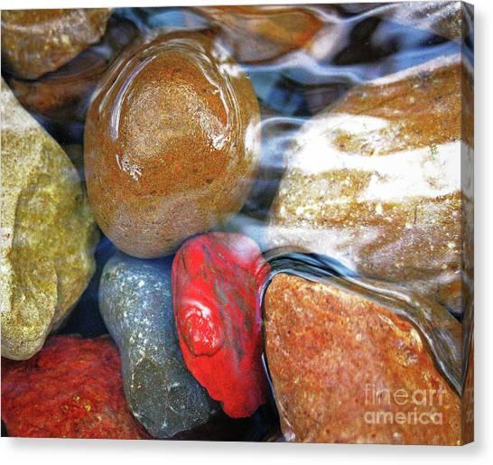 Calming Stones Canvas Print