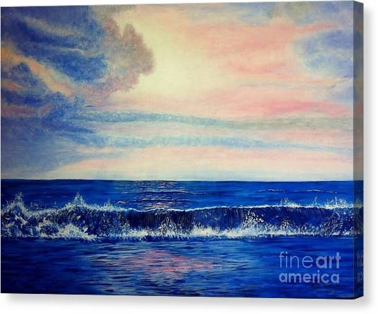 Calming Wave Canvas Print